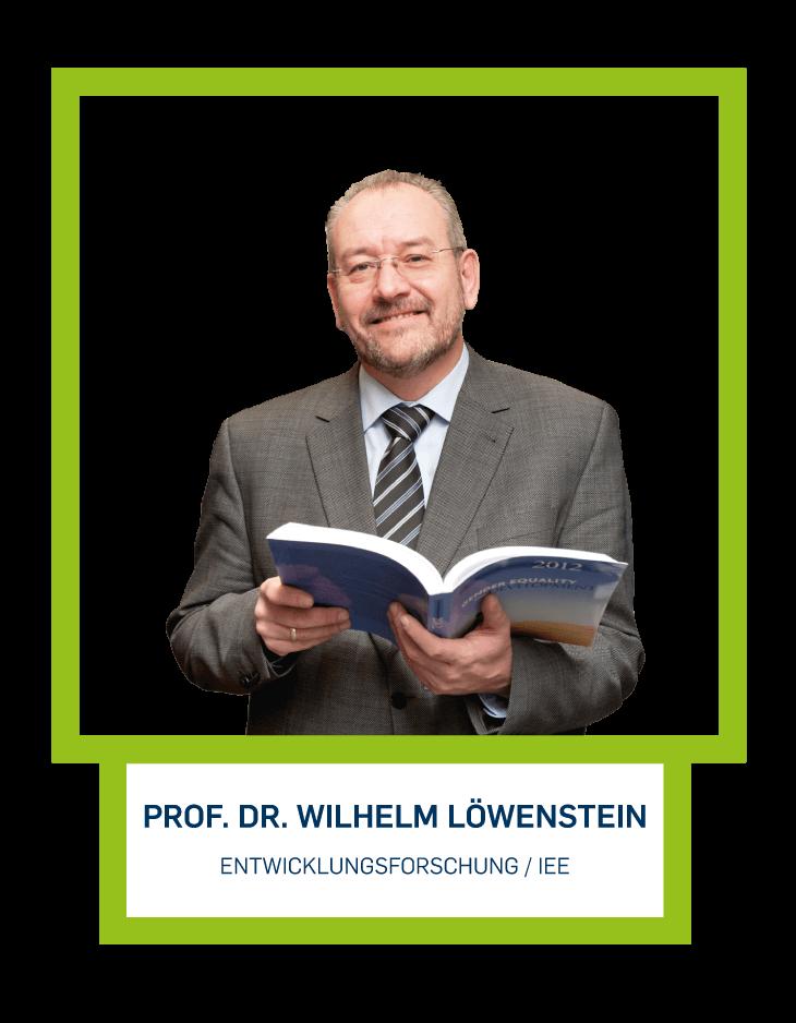 Prof. Dr. Wilhelm Löwenstein - Entwicklungsforschung / IEE