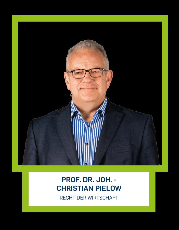 Prof. Dr. Joh. - Christian Pielow - Recht der Wirtschaft