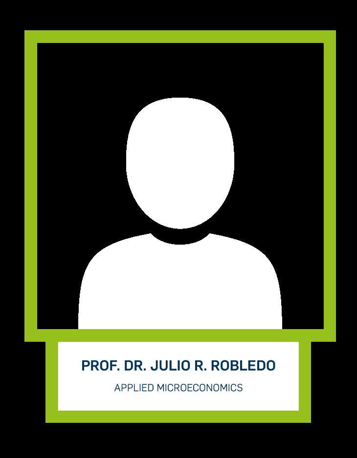 Prof. Dr. Julio R. Robledo - Applied Microeconomics